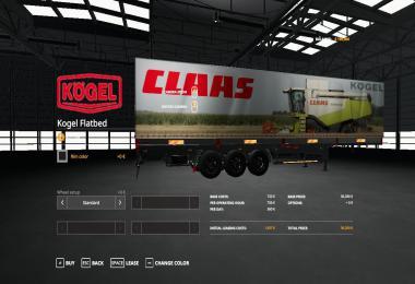 CLAAS KOGEL AUTOLOADER TRAILER v1.0