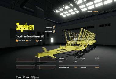 Degelman Strawmaster 120 v1.0.0.0