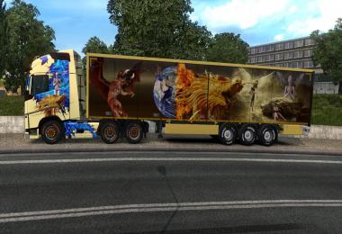 Dragon World Skin for ETS2 – 1.35.x