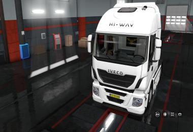 Exterior view reworked for Iveco Hi-Way v1.0