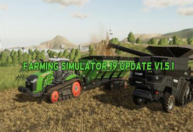 Farming Simulator 19 Update v1.5.1