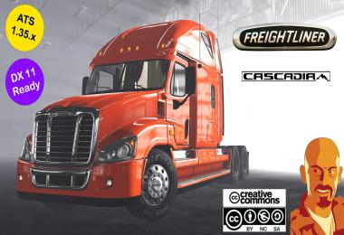 FREIGHTLINER CASCADIA ATS 1.35.x DX11