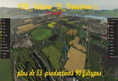 FS19 Cultures et Productions v2.0