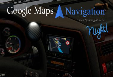 Google Maps Navigation Night Version v1.9