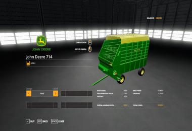 John Deere 714 Forage Box v1.0
