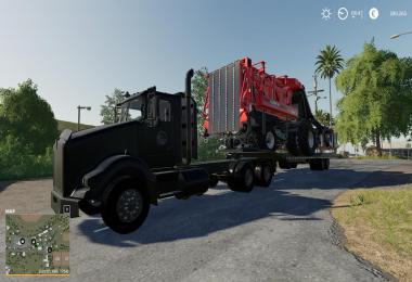 Kenworth T800 + Lowbed Trailer v1.0
