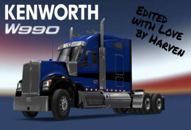 Kenworth W990 edited by Harven v1.2.1 1.36.x