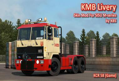 KMB Livery For SISU M-series by XBS v1.0