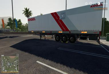 KOGEL ORIGINAL AUTOLOADER TRAILER v1.0