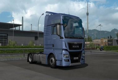 Low deck chassis addon for SCS MAN TGX E6 v1.0