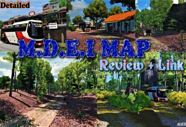 M.D.E.I Map Latest for 1.31 - 1.34