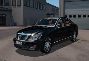 Mercedes Benz s350 4matic 2009 v1.2 ATS 1.35