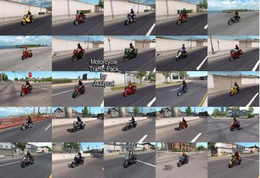 Motorcycle Traffic Pack (ATS) by Jazzycat v3.6