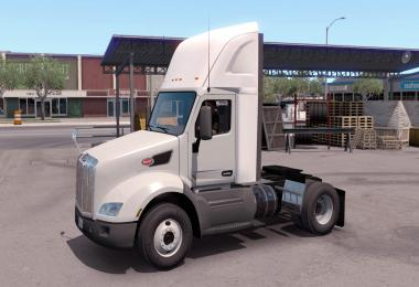 Plastic Sideskirt for the Peterbilt 579 1.35.x