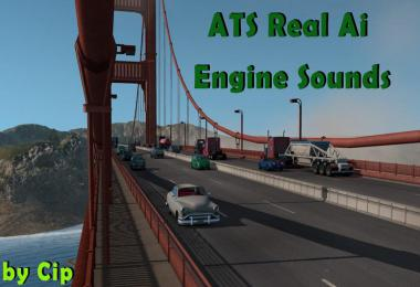 Pure Sounds! ATS Real Ai Traffic Engine Sounds by Cip 1.36