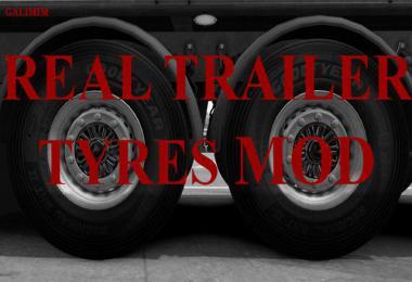 Real Trailer Tyres Mod v1.4 1.35