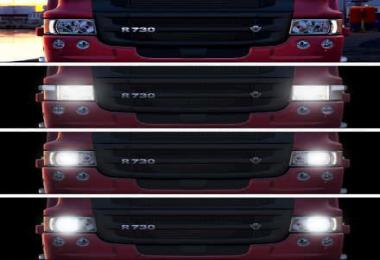 Realistic Headlight Colors For All Trucks v1.7 1.36