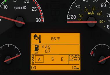 Realistic Volvo VNL Dashboard Computer 1.36.x
