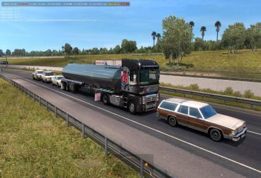 Renault Magnum in traffic 1.35.x