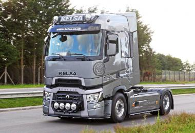 Renault Range T Real Dti Engine Sound 1.35