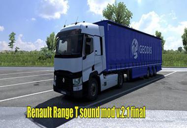 Renault Range T Sound v2.1 FINAL