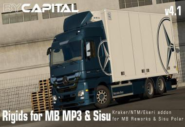 Rigid chassis for MB MP3 & Sisu Polar Mk1 ByCapital v4.1