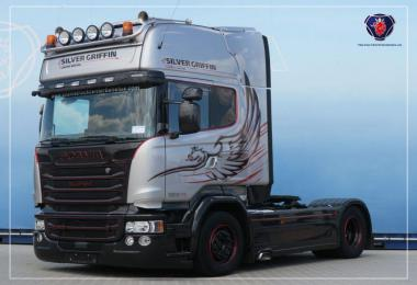 Scania Rjl, R2009, Streamline Real V8 Sound 1.35