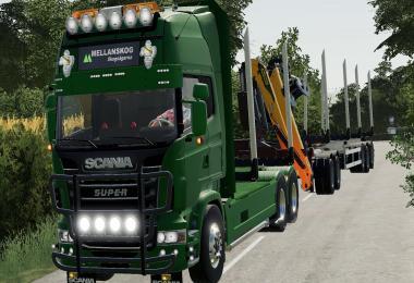 Scania r730 log truck v1.0