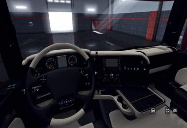 SCANIA RJL BLACK - BEIGE 6 SERIES EXCLUSIV INTERIOR v1.0
