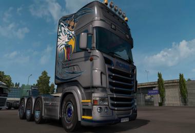 Scania RJL Topline Griffin skin v1.0