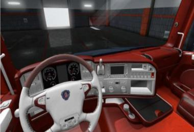 Scania T RJL Red Interior by Hubobubo 1.35.x