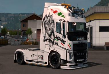 Skin Sartori Edition for Volvo FH 2012 and Scania S v1.0