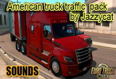 Sounds pack for American Truck Traffic Pack by Jazzycat 1.35.x