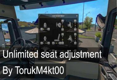 Unlimited Seat Adjustment v1.0