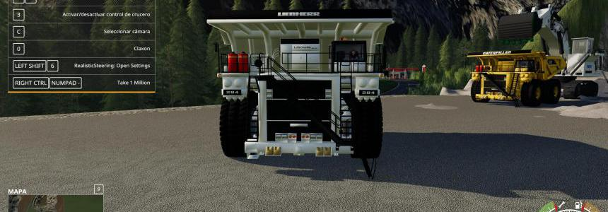 LIEBHERR T284 AND CATERPILLAR FS19 v3.0