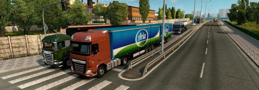Double Trailers in Traffic 1.36.x