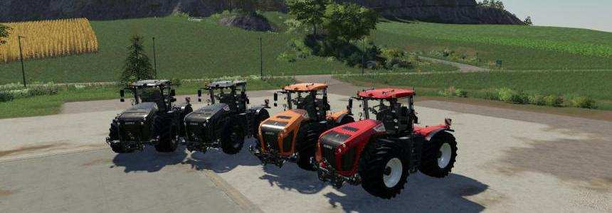 CSS Claas xerion multicolor v1.0.0.0
