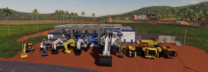Excavators and Dumpers Pack Mouse edition v0.1