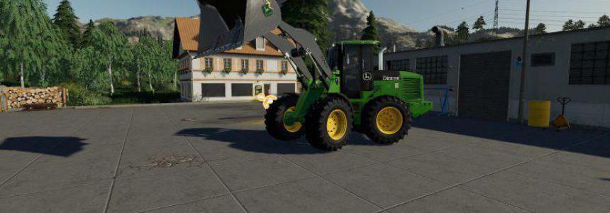 John Deere 524K Wheel Loader & Shovel v1.0.0.0
