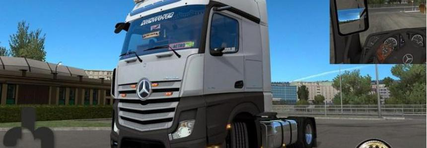 New mirrors for Mercedes Actros MP4 v1.0