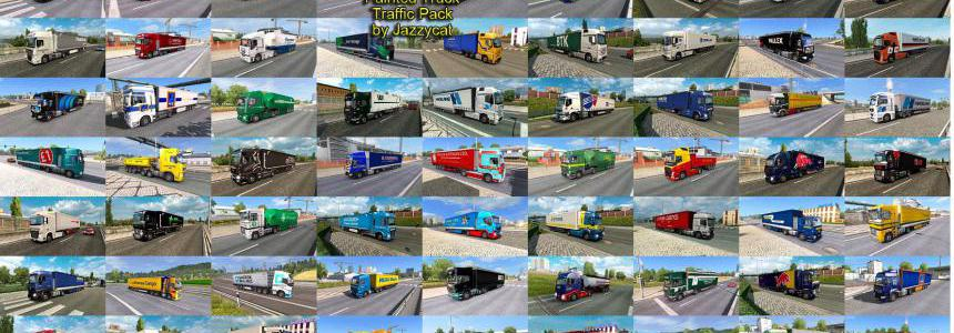 Painted Truck Traffic Pack by Jazzycat v9.1