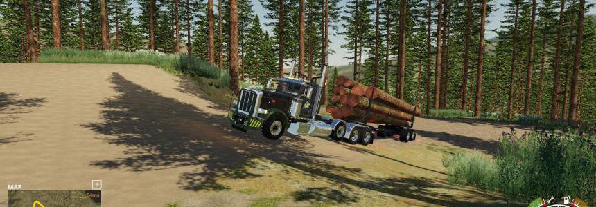 Peterbilt 389 Pole Truck v1.0
