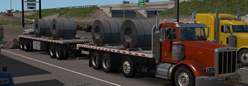 Project 3XX Heavy Truck and Trailer Add-on Mod 1.36.x