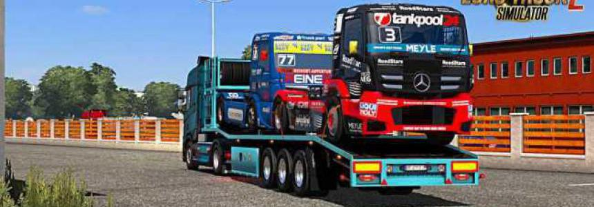 Racer Trucks Transporter Ownable Trailer v1.0