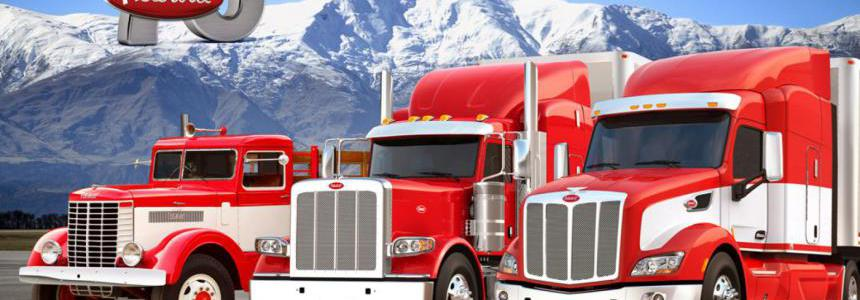 Real Engine Sounds For SCS Peterbilt Trucks v2.0