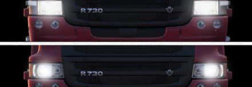 Realistic Headlight Colors For All Trucks v8 1.35.x