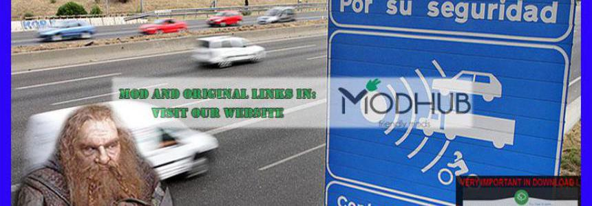 Realistic traffic v1.1 for ATS 1.36 by Rockeropasiempre