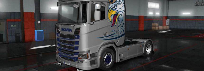 Scania S Griffin v1.0
