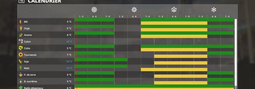 Seasons GEO: Belgium v1.0.0.0