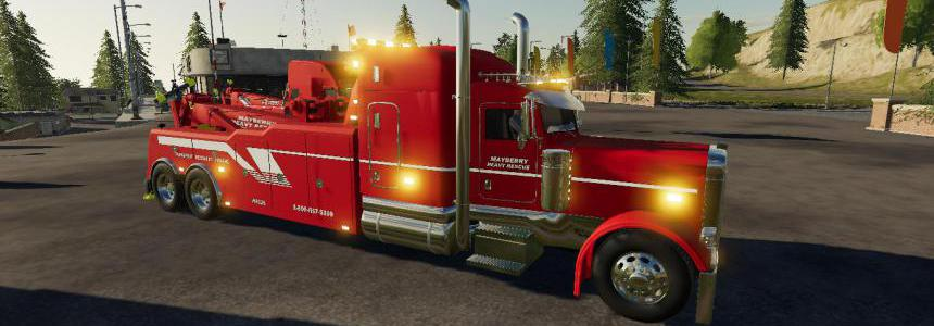 Tow Truck/ Wrecker Pack Update v0.2.2